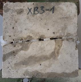 Plyšių sandarinimas betone